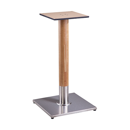 Musti Square Wood Table Base