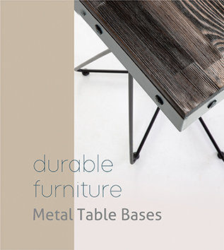 sandalyeci contract furniture durable furniture metal table bases
